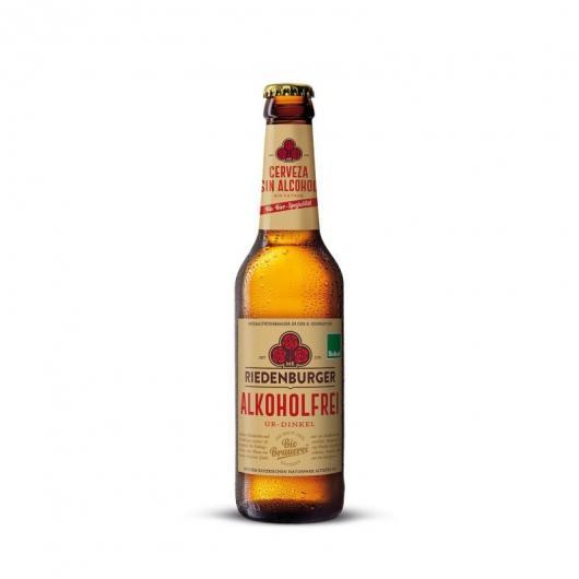 CERVEZA ESPELTA sin ALCOHOL RIEDENBURGER, 33 CL