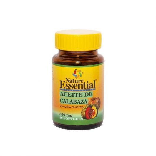 Olio di semi di zucca 500 mg Nature Essential, 50 perle