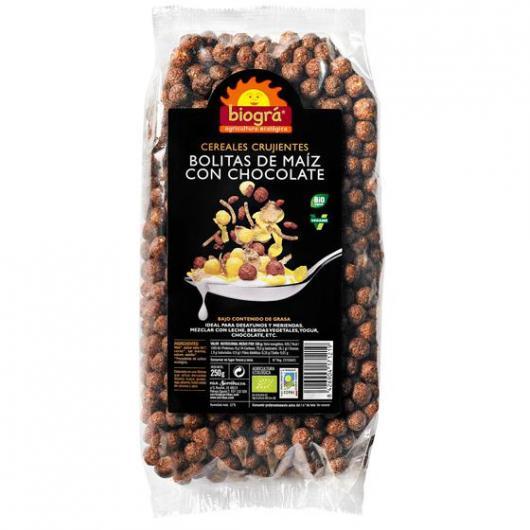 Pallini di Mais con Cioccolato Biográ, 250 g