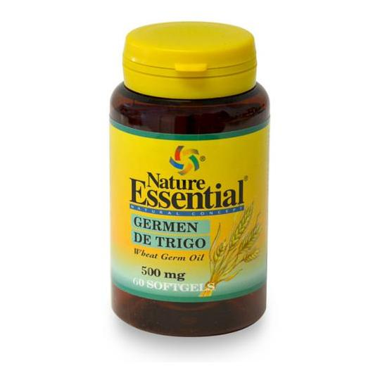 Olio di germe di grano 500 mg Nature Essential, 60 perle