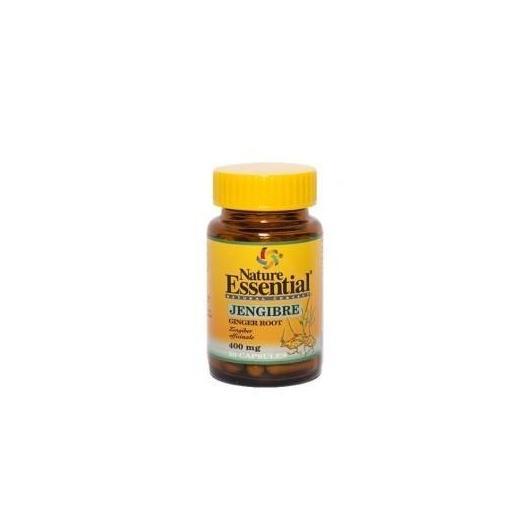 Jengibre 400 mg Nature Essential,  50 cápsulas
