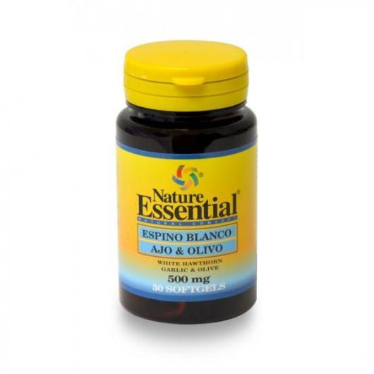 BiancoSpino Aglio e Olivo 500 mg Nature Essential, 50 perle