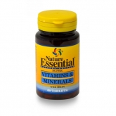 Vitamina e Minerali 600 mg Nature Essential, 60 tavolette
