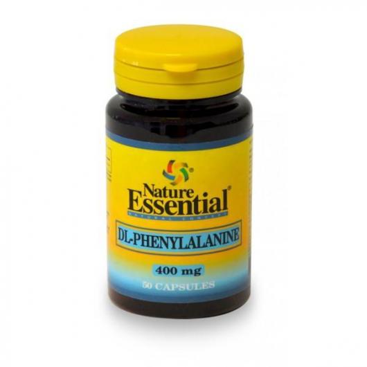 DL-Fenilalanina  400 mg Nature Essential, 50 cápsulas