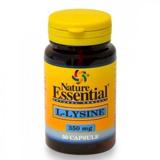 L-Lisina 350 mg Nature Essential, 50 Capsule