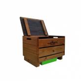 Vermicompostatore in legno semplice Multiorto