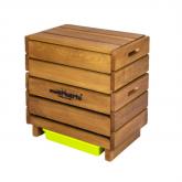 Vermicompostatore in legno completo Multihuerto