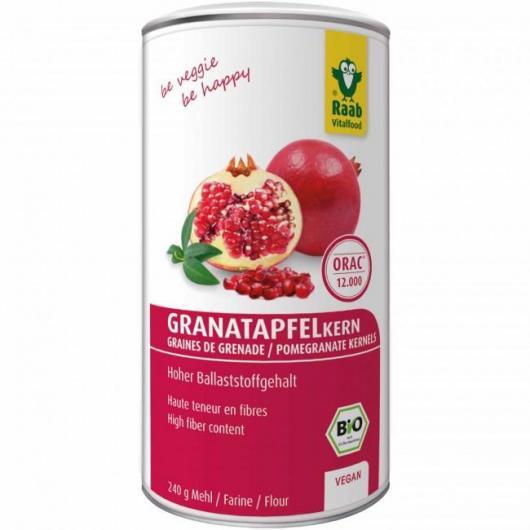 Granada polvo pepita bio Raab, 240 g