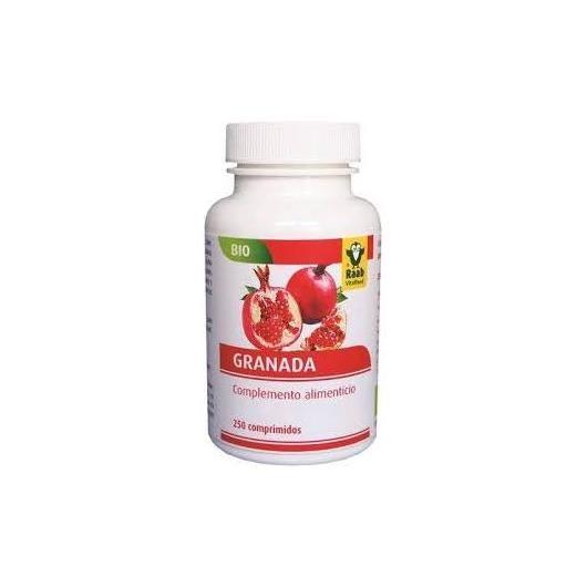 Granada bio Raab 250 comprimidos, 350mg