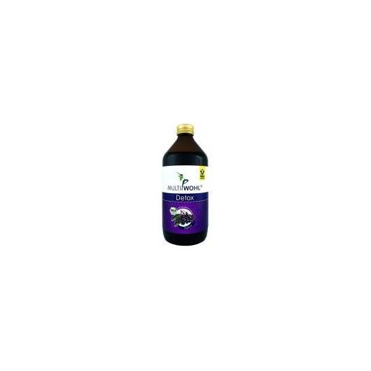 Detox Sambuco Succo bio Raab, 500 ml