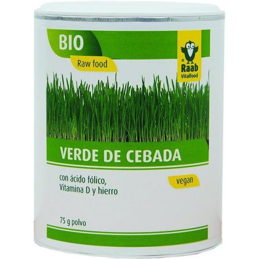 Cebada polvo bio Raab, 75 g