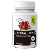 Café verde extracto bio Raab, 48 cápsulas