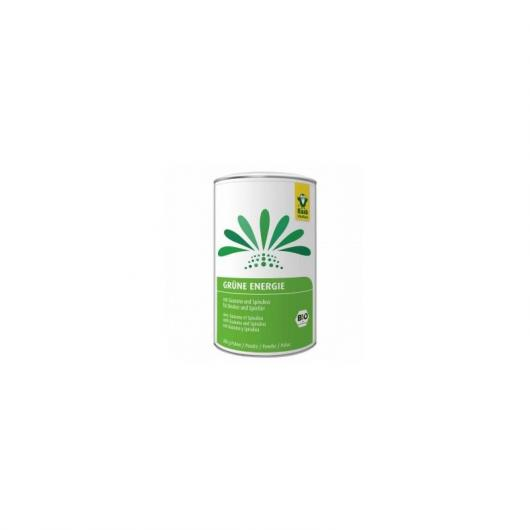 Bebida energética verde polvo bio Raab, 300 g