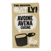 Crème liquide de cuisine OATLY BIO, 250 ml