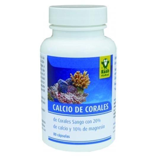 Calcio di corallo Raab, 80 capsule