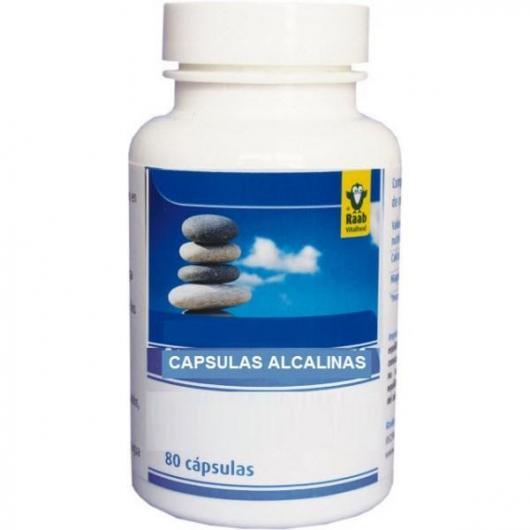 Alkaline Capsule Raab, 80 compresse