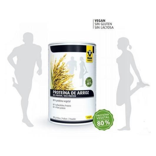 Proteína de arroz polvo Raab