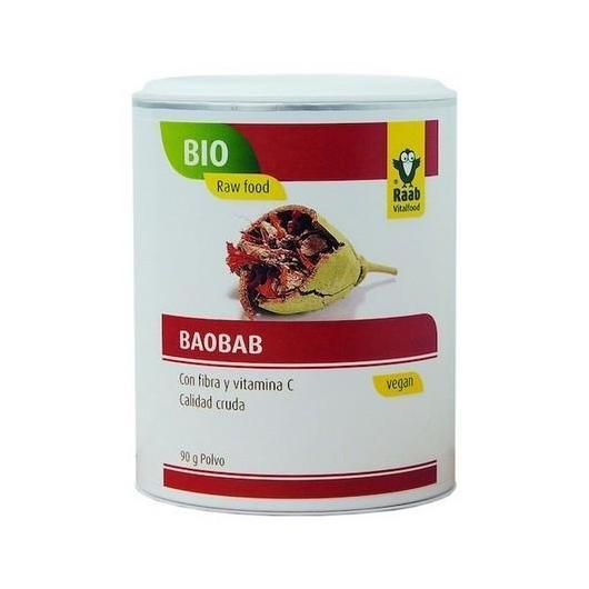 Baobab in polvere  bio Raab, 180 g