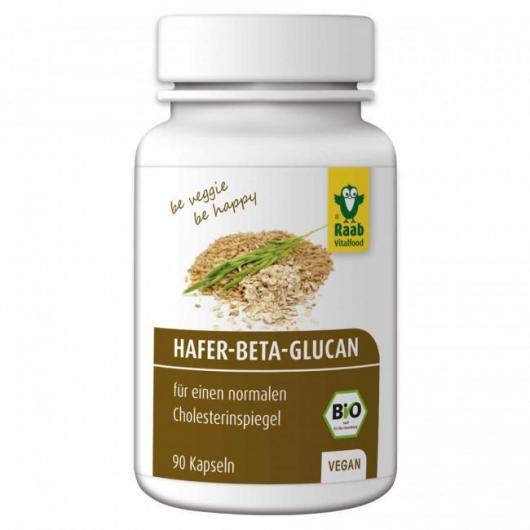Beta glucano de avena bio Raab, 90 cápsulas