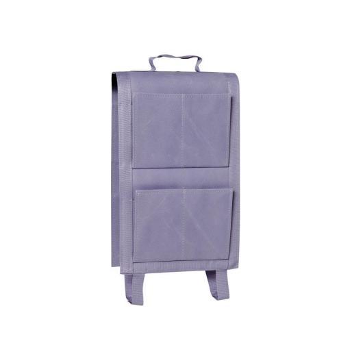 Maceta balcón textil 4 bolsillos, lavanda