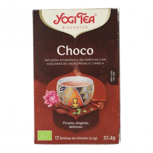 Yogi Tea BIO Chocolate, 17 bolsitas