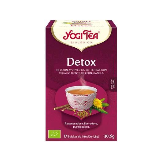 Yogi Tea BIO Detox, 17 bolsitas