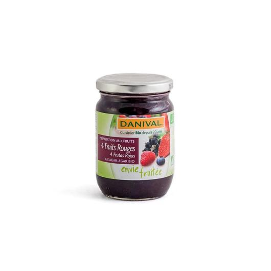Marmellata 4 frutti rossi danival, 230 g