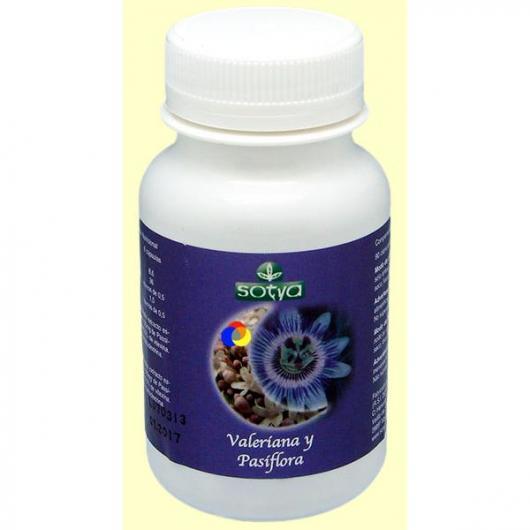 Passiflora e Valeriana 450 mg Sotya, 90 capsule