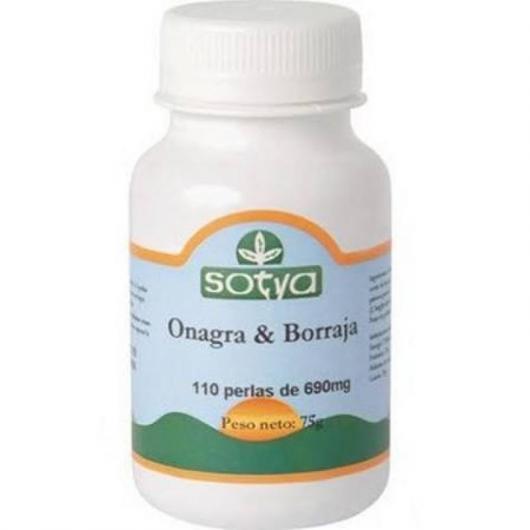 Onagra y Borraja 690 mg Sotya, 110 perlas