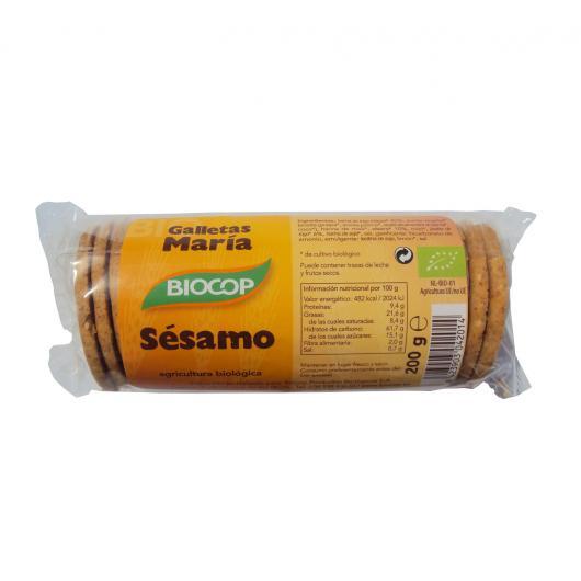 Biscuits au sésame María BIOCOP, 200 g