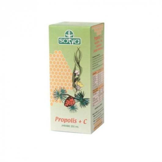 Jarabe Propolis + Vitamina C Sotya, 250 ml