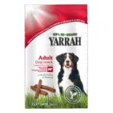 Barrette masticabili per cani Yarrah, 3 x 11 g