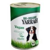 Cibo in scatola vegetariano per cani Yarrah, 380 g