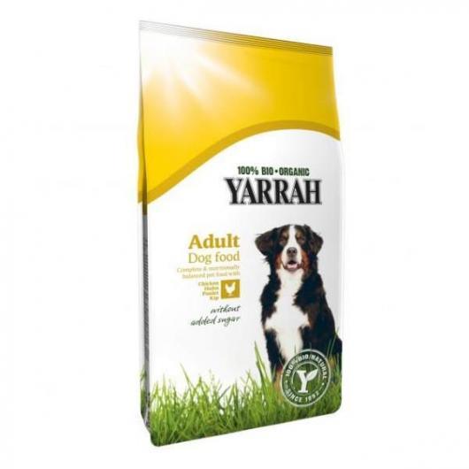 Pienso para perros con maíz y pollo Yarrah, 5 kg
