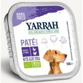 Tarrina para perros con pavo y aloe vera Yarrah, 150 g