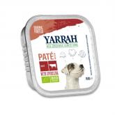 Tarrina para perros con ternera y espirulina Yarrah, 150 g