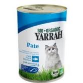 Comida en lata para gatos con pescado Yarrah, 400 g