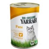 Cibo in scatola per gatti con pollo Yarrah, 400 g