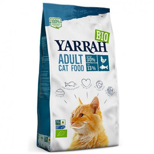 Cibo per gatti con pesce Yarrah