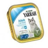 Tarrina para gatos con caballa Yarrah, 100 g