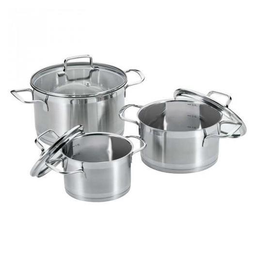 Batería de Cocina compuesta por 6 piezas KTS1050  Proficook