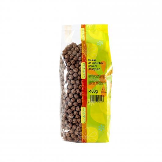 Bolitas de chocolate para el desayuno biospirit, 400 g