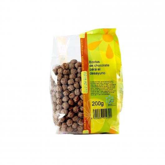 Bolitas de chocolate para el desayuno Biospirit, 200 g