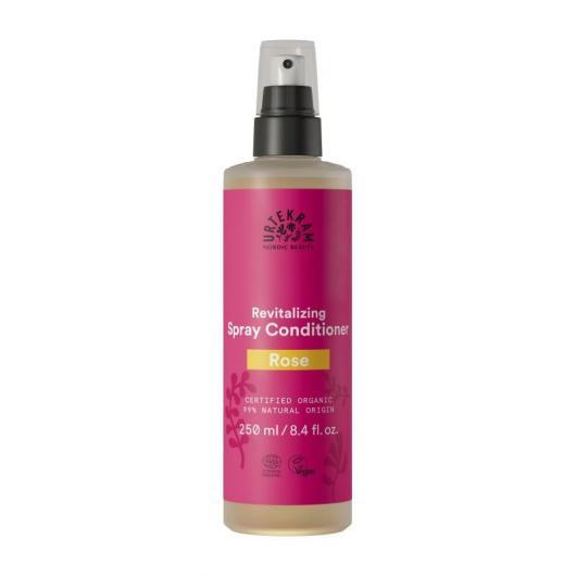 Acondicionador spray rosas Urtekram, 250 ml