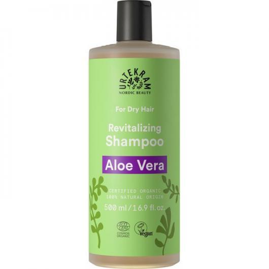 Champu Aloe Vera cabello seco Urtekram, 500 ml