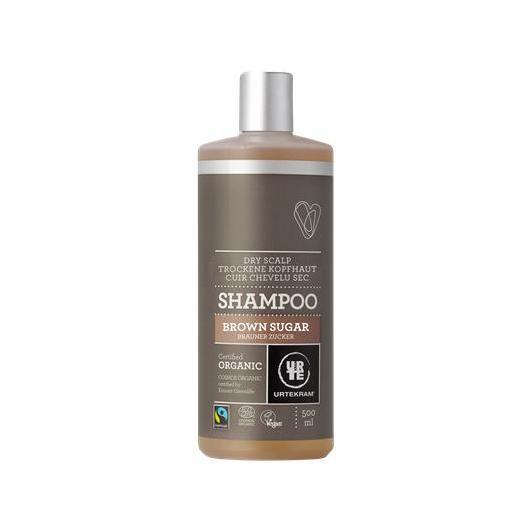 Shampoo Brown sugar fair trade Urtekram, 500 ml