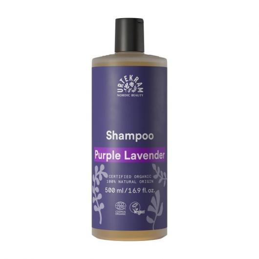 Shampoo Lavanda tutti i tipi di capelli Urtekram, 500 ml