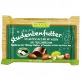 Snack de Chocolate con Leche y Frutos secos Rapunzel, 100g