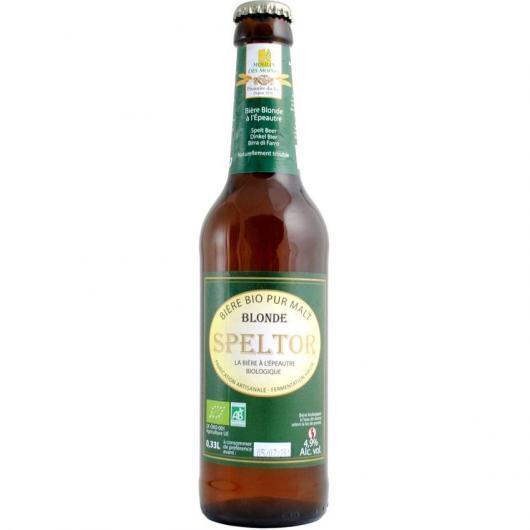 Cerveza Bio Espelta Moulin des Moines,12 unidades de 0.33l