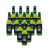Cerveza de Cannabis bio, 12 unidades de 33cl